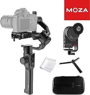 MOZA Air 2 Stabilizer Gimbal de Mano de 3 Ejes con Sistema de Control de Lente iFocusM Pantalla OLED Lapso de Tiempo Inteligente para DSLR Cámaras de Cine de Bolsillo sin Espejo Carga útil de 9 LB