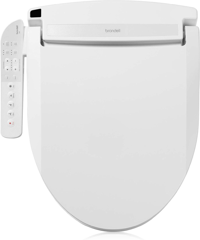 Brondell LE89 Swash quality assurance Electronic favorite Bidet Elongated T Fits Seat
