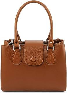 Tuscany Leather Fiordaliso Leather Handbag - TL141811 (Cognac)
