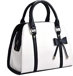 COOFIT Lady Purses and Handbags Little Bow Leisure Top-Handle Bags Shoulder Bag Purse
