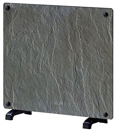 Efydis 092, Pannello riscaldante decorativo, Design ardesia, Nero (schwarz)