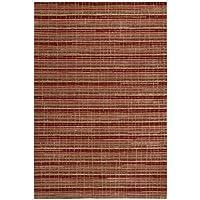 Joseph Abboud MUL02 Mulholland Rectangle Handmade Rug, 3.9 by 5.9-Feet, Ruby 141[並行輸入]