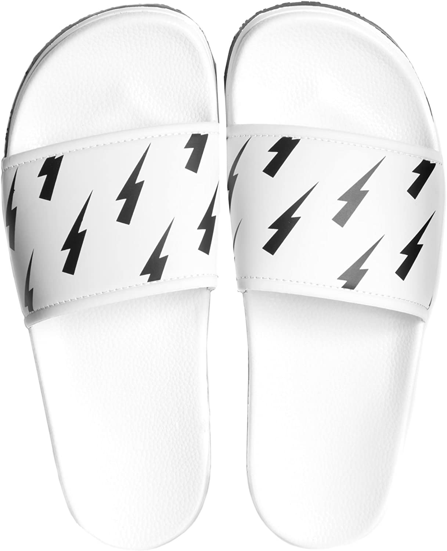 Slydes - SS18 Tazer White Men's Slider Sandals RRP  35