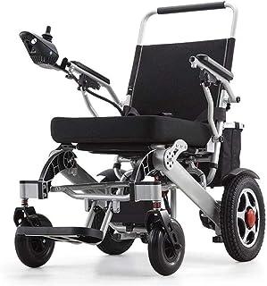 De peso ligero plegable sillas de ruedas eléctrica Silla de ruedas ligera Deluxe eléctrico for personas de movilidad reducida motorizado silla de ruedas eléctrica plegable, plegable Foldawheel Carry,