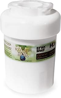 EcoFresh 400 Gallon GE MWF Replacement Water Filter EFW1-MWF WQA Certified to NSF/ANSI 42 and NSF/ANSI 372 For removal of Chlorine Taste Odor and Lead Content!