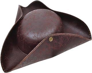 Bristol Novelty- Sombrero Tricorn Marrón Antiguo Look, Color, talla única (BH558)