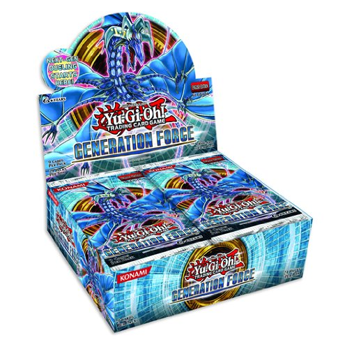 Yugioh Generation Force Trading Card Booster (Box of 24 Packets) [Toy]