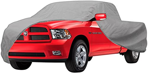 lowest OxGord Ready-Fit Truck Cover - Semi-Glove-Fit for 2-Door Short sale Bed Pickup - sale 2 Layer - Indoor online