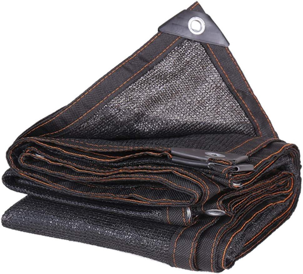 Black UV Resistant Fabric Mesh for Greenhouse Carport Pond Gazebo Size : 2m x 2m Shade Cloth 95/% Sunblock Shade Cloth Net LXLA