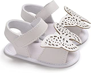 FidgetGear Hollowed Out Butterfly Sandals with Silica Gel Soles, Skin Friendly & Cozy Sandals for Babies