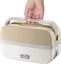 Multifunctionele elektrische lunchbox, mini rijstkoker, draagbare voedselverwarmer met roestvrijstalen kommen, eierstoomre...