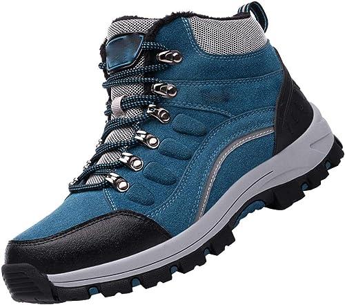 Randonnée Sports De Plein Air Chaussures De Marche Anti-dérapant Et Coton Chaud Chaussures En Coton