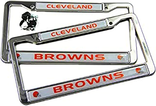 Best cleveland browns license plate frame Reviews