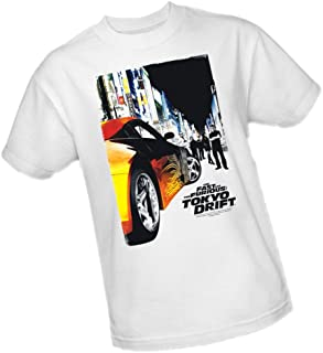 Universal Studios Tokyo Poster - The Fast and The Furious: Tokyo Drift Adult T-Shirt