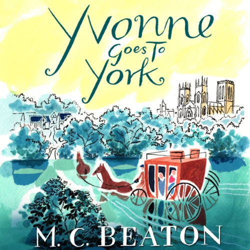 Yvonne Goes to York audiobook cover art