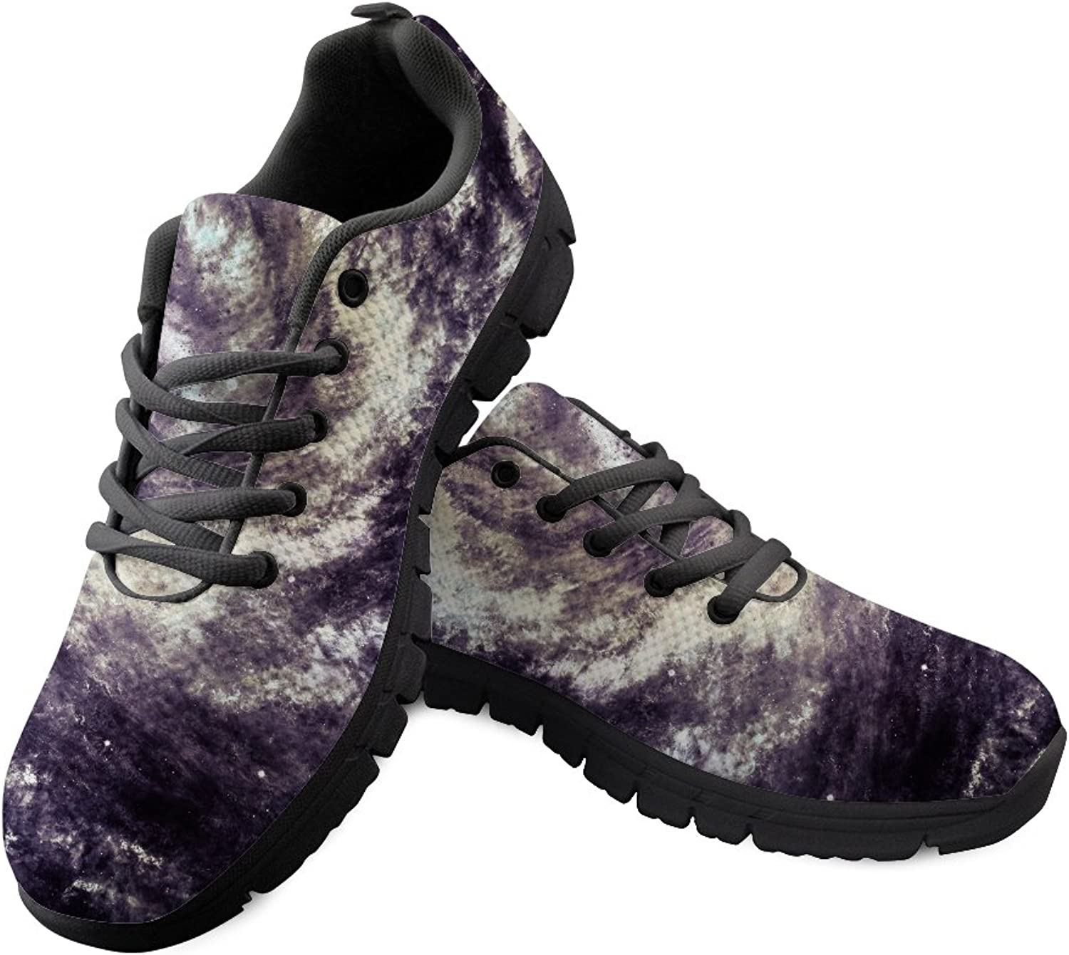 FOR U DESIGNS Galaxy Star Womens Mens Running shoes Lightweight Lace up Sport Sneakers