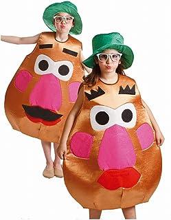Disfraz de Sr. Cara Patata para ninos de 8 a 10 años