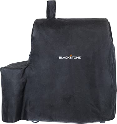 Blackstone 1626 Kabob Cover Heavy Duty 600 D Polyester Weather and Water Resistant with Reinforced Corners Griddle Acceossries fits Kebab Charcoal Grill with Shelf Attached