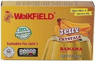 Weikfield Banana Jelly Crystals - 75g