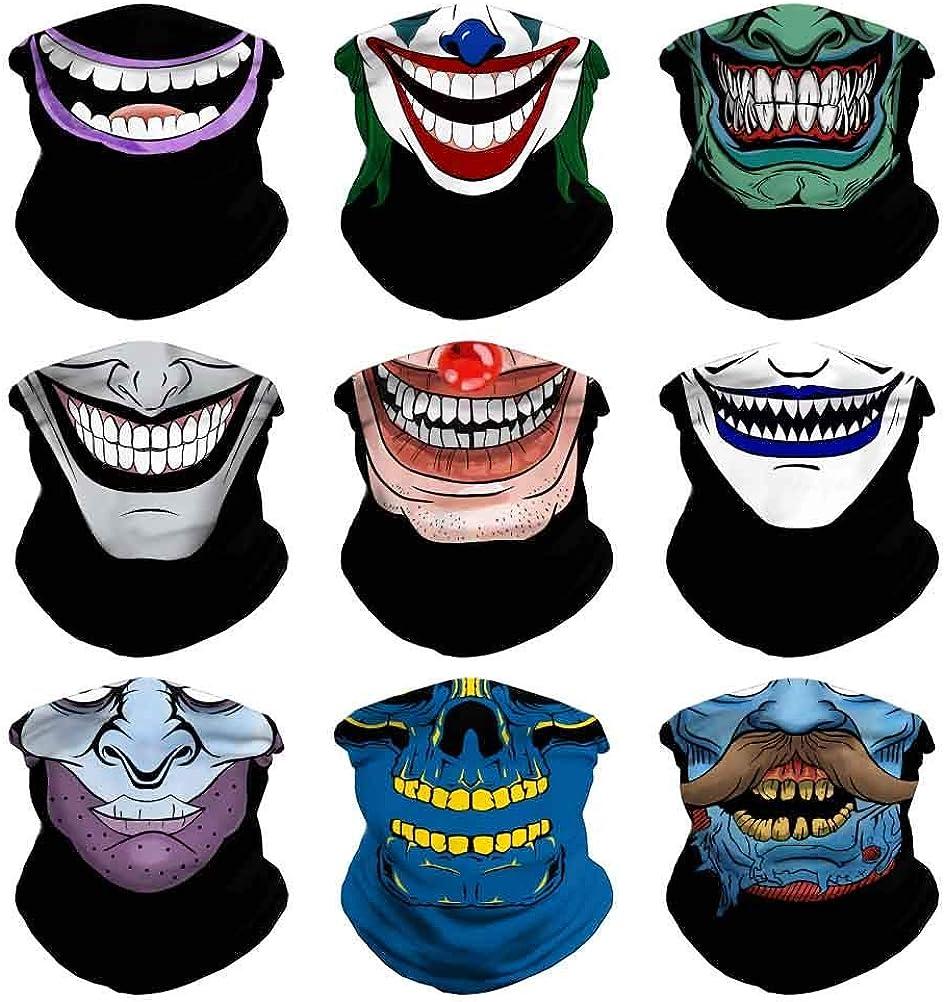 VCZUIUC Headwear Bandana Head Manufacturer regenerated product Wrap Face Warmer B Neck Large discharge sale Scarf Mask