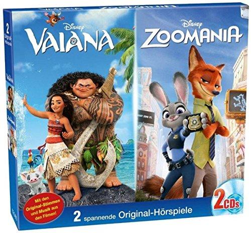 Disney Doppel - Box: Vaiana/ Zoomania (Audio CD)