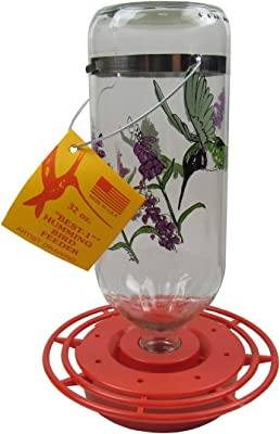 Best-1 BEST32BC Hummingbird Feeder 32 oz Black Chinned Bulk