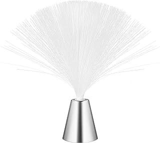 LEDMOMO Lámpara de fibra óptica de color que cambia la luz de la lámpara de fibra óptica de la lámpara de luz nocturna de la fuente de fibra con pilas.