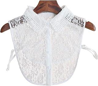 Joyci Korean Women's Stylish Detachable Half Shirt Blouse False Fake Doll Collar