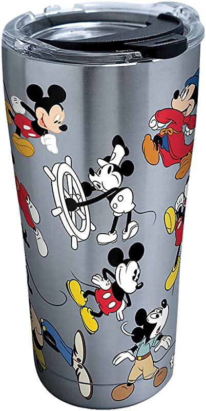 Tervis Disney Mickey Mouse 90th Birthday Tumbler 20 Ounce Stainless Steel