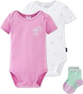 Schiesser Baby-Mädchen Multi-Pack Cupcakes Unterwäsche-Set 3er