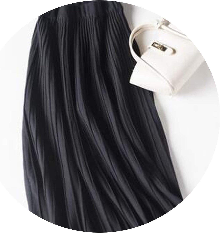 Tulle Skirt Winter Skirt Khaki Coffee Black MidCalf Skirt for Women Pleated Thick Skirts Winter Autumn