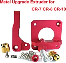 Upgrade 3D Printer Parts MK8 Extruder Aluminum Alloy Block Bowden Extruder 1.75mm Filament for Creality 3D Ender 3,CR-7,CR-8, CR-10, CR-10S, CR-10 S4, and CR-10 S5
