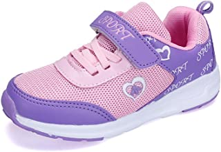 ANTETOKUPO 女の子スニーカー ジュニア スポーツ靴 子供シューズ19cm~23cm [並行輸入品]