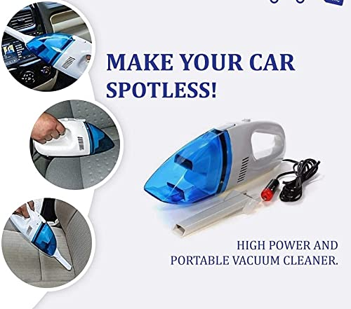 Powerful Suction 12V Portable Multifunctional Vacuum Cleaner for Car and Also use in Home Appliance