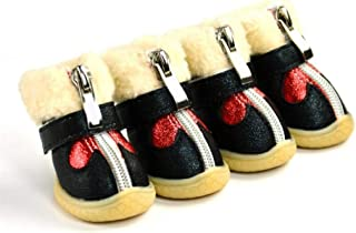 SENERY Autumn Winter Pet Snow Boots Waterproof Slip-Resistant Dog Shoes Teddy Chihuahua Pets Supplies