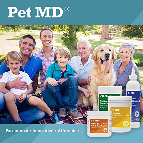 Pet MD Benzoyl Peroxide Medicated Shampoo for Dogs and Cats, Effective for Seborhhea, Dandruff, Mange, Itch Relief, Acne and Folliculitis, Citrus Scent, 12 oz.