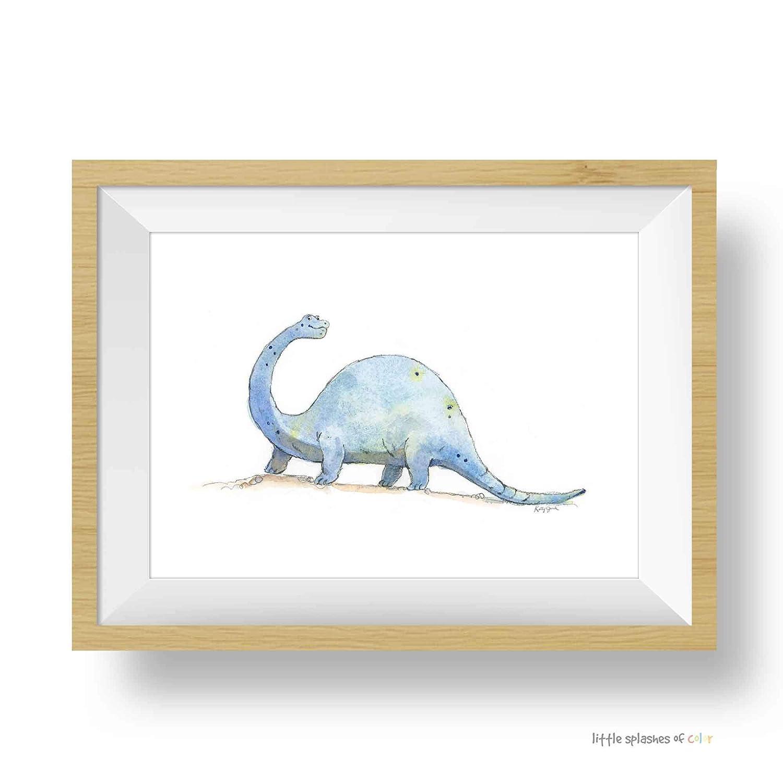 Dinosaur Nursery Decor Blue Ranking TOP18 Wall Brontosaurus D Manufacturer OFFicial shop