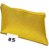 DIPNDIVE LSW05-YL HD Cordura Pouch Weights - 5 pounds - Soft Weight - Yellow