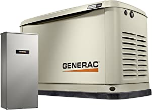 Generac 7037 16/16 Kw Air-Cooled Standby Generator, Aluminum