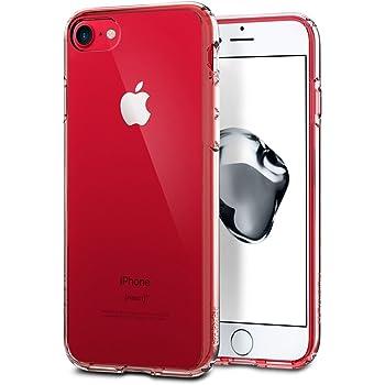 【Spigen】 スマホケース iPhone7 ケース 対応 全面クリア 耐衝撃 米軍MIL規格取得 ウルトラ・ハイブリッド 042CS20443 (クリスタル・クリア)