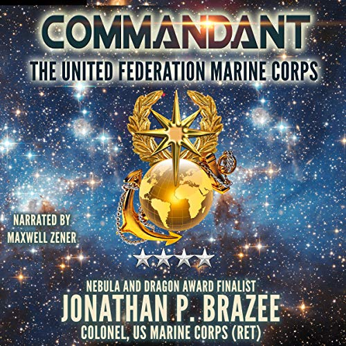 Commandant audiobook cover art