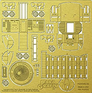 Paragrafix 1/44 Scale Discovery XD-1 Cockpit and Airlock Photoetch Set PGX210