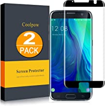 Sponsored Ad - [2 Pack]Samsung Galaxy S7 Edge Screen Protector Tempered Glass [Case Friendly][Anti Scratch][3D Curved][3d ...