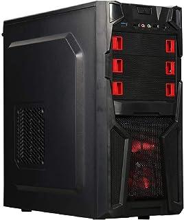 Gaming PC Desktop Computer Quad Core 3.9GHZ AMD Ryzen Radeon 1TB HDD 8GB DDR4