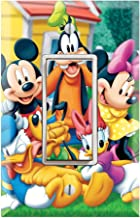 Single Rocker Wall Switch/Outlet Cover Plate Decor Wallplate - Mickey Mouse Clubhouse