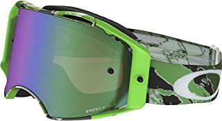 Oakley Airbrake MX Eli Tomac Adult Off-Road Motorcycle Goggles Eyewear - Neon Green Camo/Prizm MX Jade/One Size Fits All