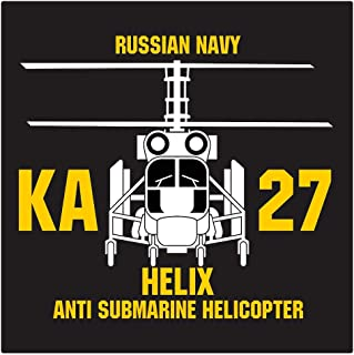 Helix KA-27 Helicopter Die Cut Decal