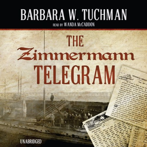The Zimmermann Telegram audiobook cover art