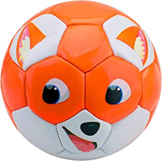 EVERICH TOY Soccer Balls,Toddler Ball Games,Sport Ball Toy for Outdoor/Indoor (Size 3,with Pump)