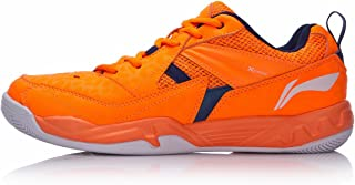 LI-NING Men Badminton Training Sports Shoes Wearable Non Slip Professional Sneakers AYTM079